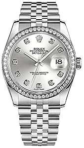 Rolex Datejust 36 116244 Diamond 36mm Luxury Watch