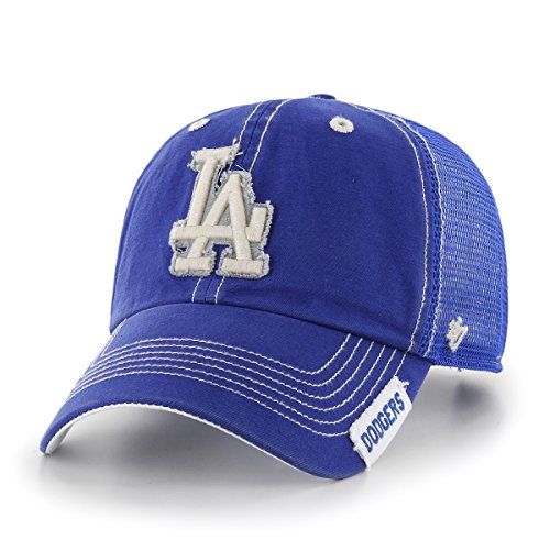 fan products of MLB Los Angeles Dodgers Turner Clean Up Adjustable Hat, One Size, Royal