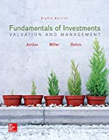 Fundamentals of Investments: Valuation and Management, 8th Edition Front Cover