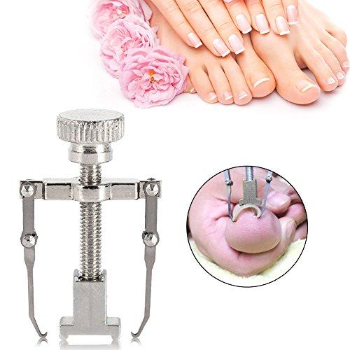 Ingrown Toenail Tool,Stainless Steel Ingrown Toenail Recover Correction Kit Pedicure Toes Treatment Foot Nail Care (Silver)