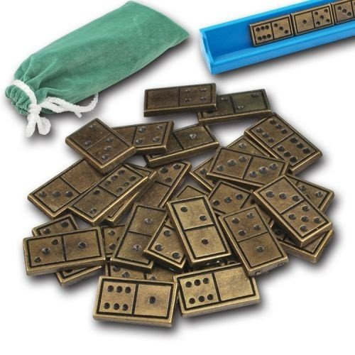 Star VIP Board Games Zamak Domino - Istaka And Carrying Case by Star VIP Games