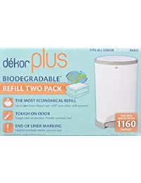 Dekor Plus Biodegradable Refill Two Count BOBEBE Online Baby Store From New York to Miami and Los Angeles