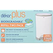 Diaper Dekor Plus Biodegradable Refill - 2 ct  Discontinued by Manufacturer