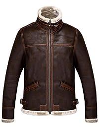 Resident Evil 4 JIAX Men's Winter Thicken Faux Leather Jacket Warmer Coat