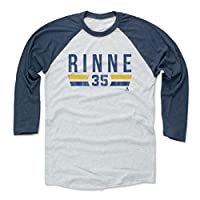 500 LEVEL's Pekka Rinne Baseball Shirt - Nashville Hockey Fan Gear - Pekka Rinne Font