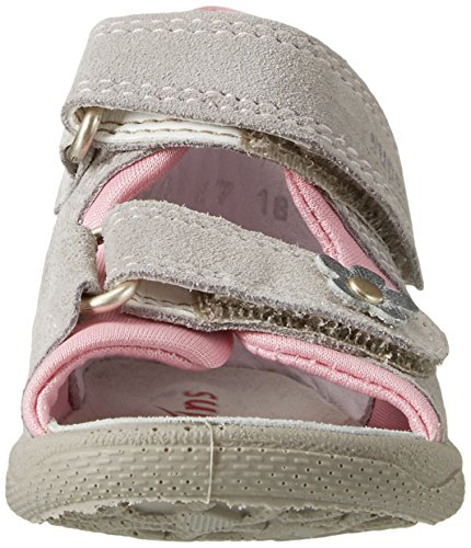 Fille Polly Pebble Superfit Kombi Beige Ouvert Bout Sandales Ifv76S
