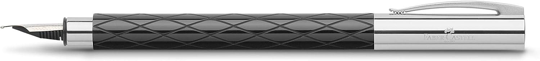 Faber-Castell Ambition 148923 Penna Stilografica Nero