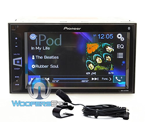 Pioneer MVH-AV290BT 6.2'' Double-DIN In-Dash Digital Media A/V Receiver with Bluetooth by Pioneer