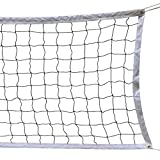 Image of NKTM Outdoor Sports Classic Volleyball Net for Garden Schoolyard Backyard Beach (32 FT x 3 FT) Poles Not Included