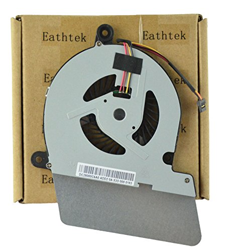 Eathtek New CPU Cooling Cooler Fan for Toshiba Satellite U90