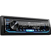 JVC KD-X350BTS 1-Din Car Digital Media Bluetooth Receiver...