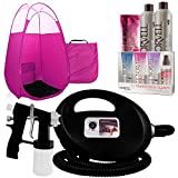 Best Spray Tanning Machines - Black Fascination Spray Tan Machine, Pink Tent, Norvell Review