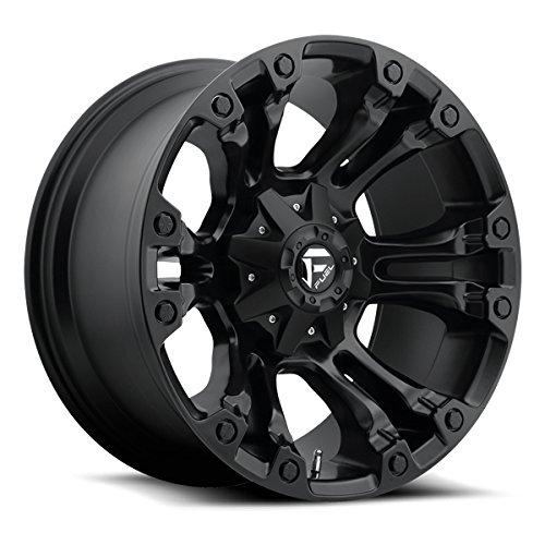 15 8 Lug Rims (Fuel D560 Vapor 15x8 5x139.7 -16mm Matte Black Wheel Rim)