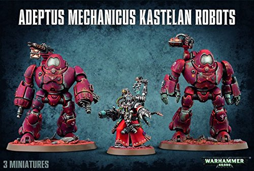Warhammer 40K Adeptus Mechanicus Kastelan Robots by Games Workshop by Games Workshop