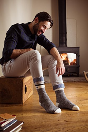 D'hiver Motif Holders Lorton 39–45 Rayé Taille À Chaussettes Thermiques Heat CWScaqtt
