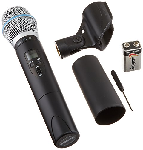 Shure ULX2/BETA87C with Beta 87C Microphone, J1 (Uhf Handheld J1)