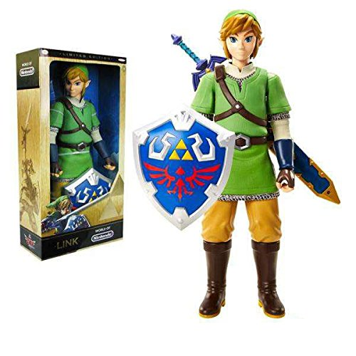 "SDCC 2015 EE Exclusive Legend Zelda Skyward Sword Link Variant 20"" Action Figure"