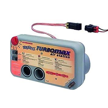 Kit Hinchador Turbo Max Electrico Bravo Montaje Consola: Amazon.es: Deportes y aire libre