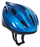 Trespass Cranky, Dark Blue, 48/52, Cycle Safety Helmet Kids Unisex, 48cm-52cm, Blue