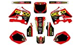 5157 HONDA CR 125 1991-1992 CR 250 1990-1991 DECALS STICKERS GRAPHICS KIT