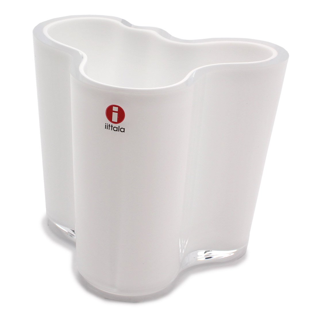 (イッタラ)IITTALA アルヴァアアルト フラワーベース 95mm 花瓶 03.ホワイト [並行輸入品] B01HGB1O5U フリー 03.ホワイト 03.ホワイト フリー