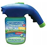 Hydro Mousse 17500-6 Liquid Lawn Bermuda Grass Seed, Spray N' Stay, As Seen On Tv