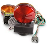 amazon com easy install magnetic towing trailer light tail lights 12v magnetic towing tow light kit trailer rv tow dolly tail towed car boat truck