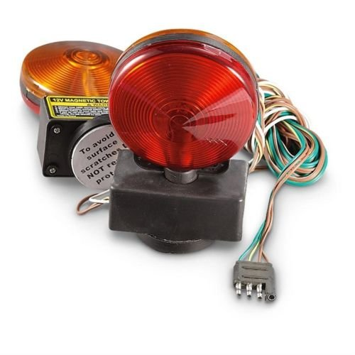 Lighting Technologies LT330 Trailer Towing Light Kit-Two-Sided Magnetic-Red