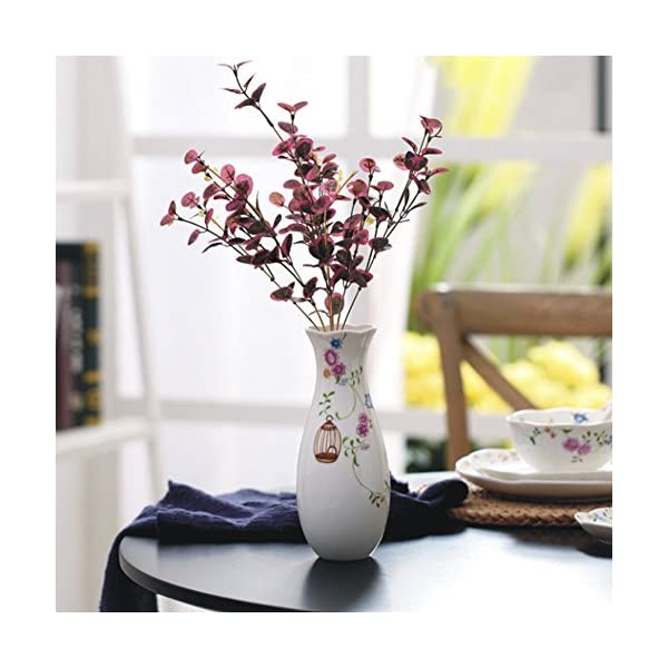 8-Small-White-Ceramic-Flower-Vase-Home-Decor-Vase-and-Table-Centerpieces-Vase-Ideal-Gifts-for-Friends-and-Family-Christmas-Wedding-Bridal-Shower
