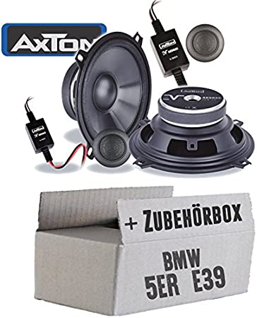 Bmw 5 Series E39 Saloon Speaker Boxes Axton Ae502c 13 Cm 2 Way Coaxial Car Installation Accessories Installation Kit Navigation Car Hifi