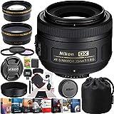 Nikon AF-S DX NIKKOR 35mm f/1.8G Lens with Auto Focus F-Mount DSLR Cameras