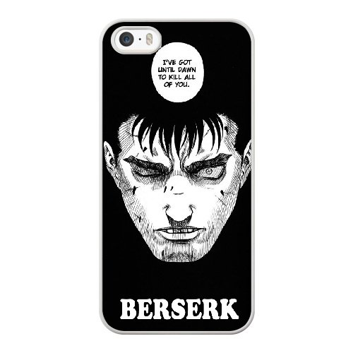 Coque,Coque iphone 5 5S SE Case Coque, Berserk Manga Cover For Coque iphone 5 5S SE Cell Phone Case Cover blanc