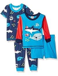 Baby Boys 4 Piece Pajama Set