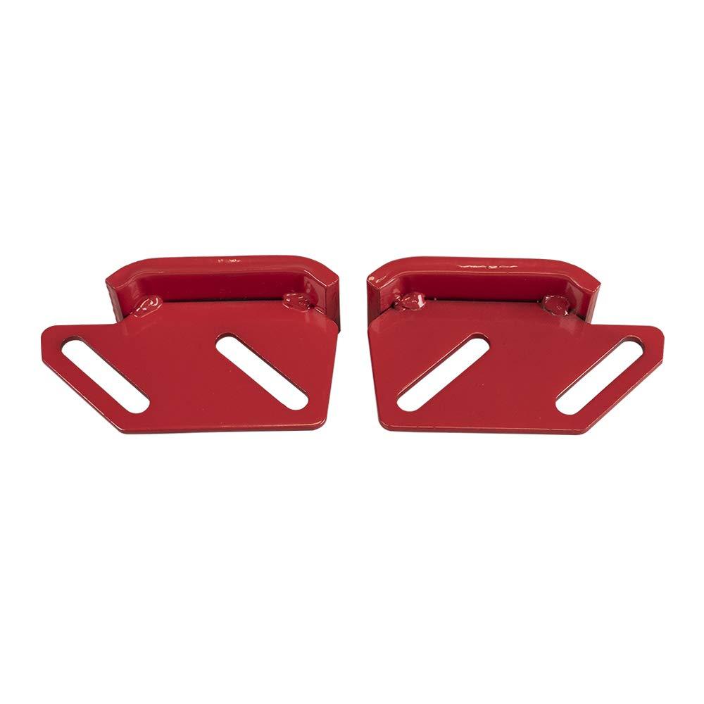 8TEN Skid Shoe Set for Toro 624 824 828 1132 Power Shift Snowblower 74-1100-01 62-0980 62-0990 74-1100 by 8TEN