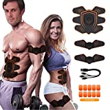Abs Stimulator Abdominal Trainer Ultimate Abs Stimulator Ab Stimulator Men Women Work Out Ads Power Abs Training Gear Workout Equipment Portable Stimulator Abs Belt'