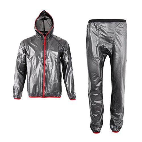 [해외] Homyl 방수 방풍 사이클링 (jersey)저지 레인 코팅 레인 슈트 재킷 바지 전6사이즈
