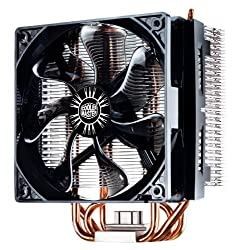Cooler Master Hyper Rr-t4-18pk-r1 Cpu Cooler With 4 Direct Contact Heatpipes, Intelamd With Am4 Support