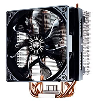 Cooler Master Hyper Rr-t4-18pk-r1 Cpu Cooler With 4 Direct Contact Heatpipes, Intelamd With Am4 Support 0