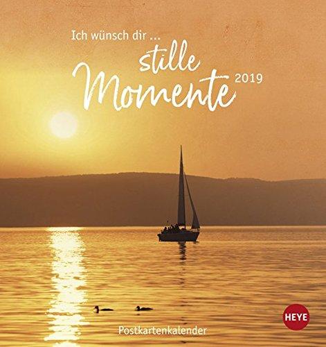 Ich wünsch' dir … stille Momente Postkartenkalender - Kalender 2019