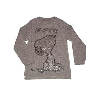 Relaunch - Camiseta de manga larga - para niña gris gris