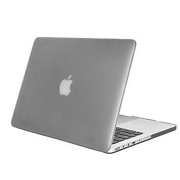 DETUOSI MacBook Pro 15 Retina Case, Flip Folio Duro Caso Cubierta Plástica Piel Hard Case Funda Carcasa para Apple MacBook Pro 15Retina Case ...