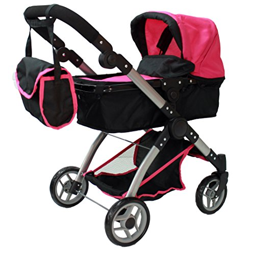 Mommy & me 2 in 1 Deluxe doll stroller (view all photos) 9620 (Double Stroller For Newborn And 2 Year Old)