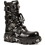 New Rock Boots Unisex Style 575 S1 Black
