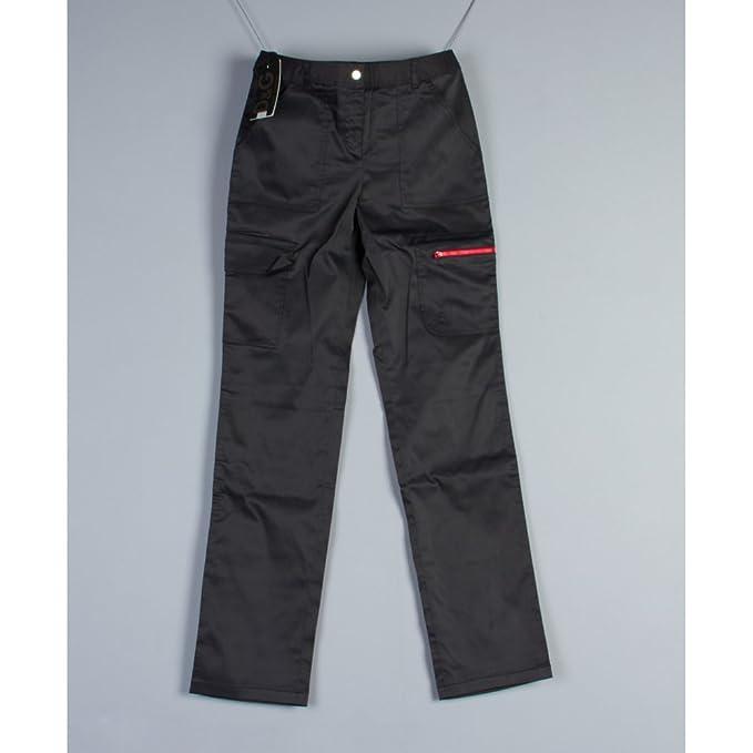 163b5c2667 Dolce & Gabbana da donna D&G pantaloni Ac7105 Blk: Amazon.it ...