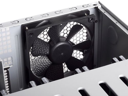 SilverStone Technology Premium Mini-ITX / DTX Small Form Factor NAS Computer Case, Black (DS380B) by SilverStone Technology (Image #13)