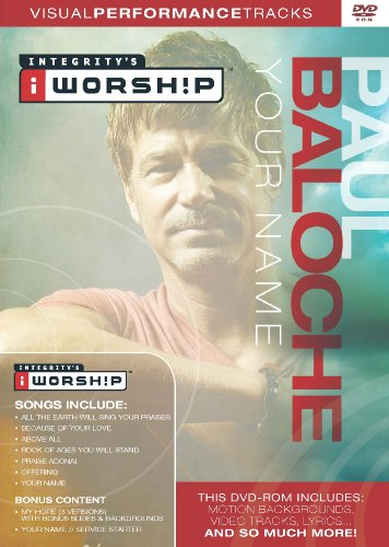 Paul Baloche Your Name Visual Performance Tracks ()