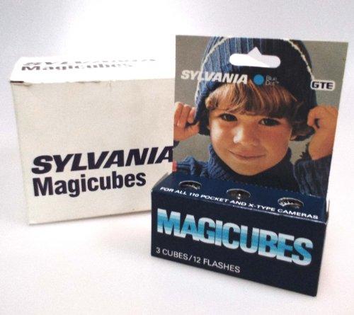 Sylvania GTE Magicubes 3-cubes, 12 flashes by Sylvania GTE Magicubes