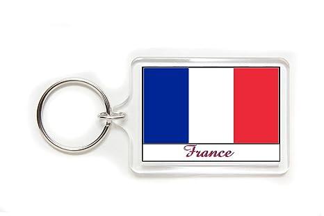 Amazon.com: 50 souvenir Francia Bandera Francesa Acrílico ...