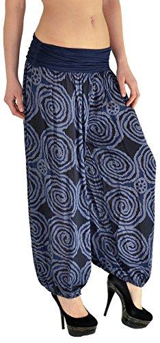 Pantalons Sarouel Harem Femme Pump Pantalon Pantalon Femme bleu de Pantalon S12 Yoga Dames S14 Marine pour pour Yx0dqHT