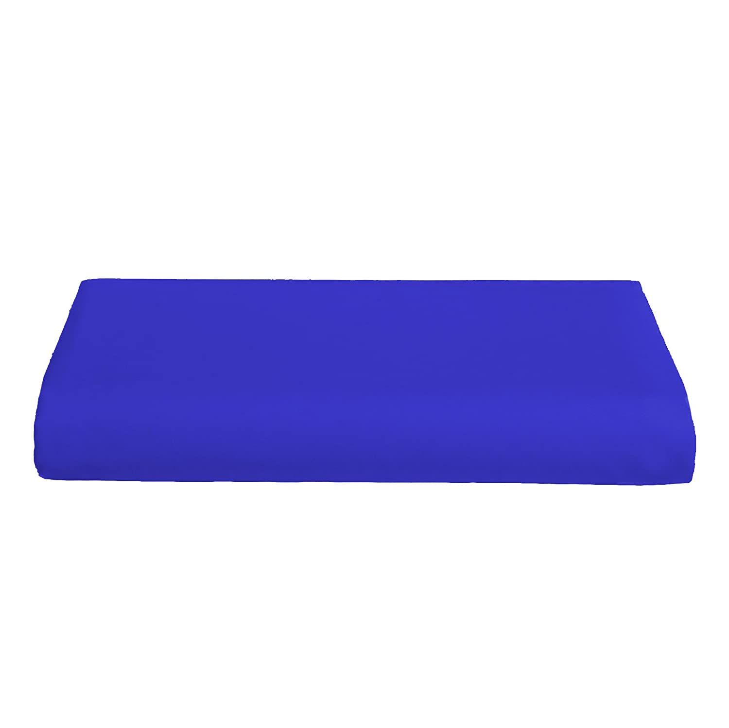 Crib & Toddler Poly/Cotton Sheet - Color: Royal Blue - Flat by Baby Doll   B000IG8HYM
